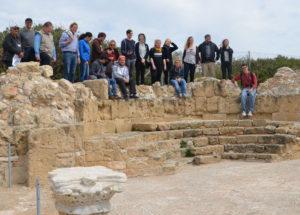 Gruppenfoto Zypern-Exkursion Pegeia 2016