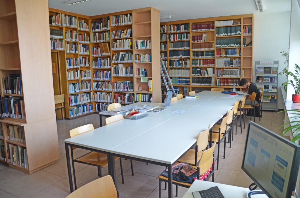 Bibliothek Chriostliche Archäologie Erlangen