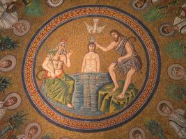 Taufe Jesu (Mosaik)
