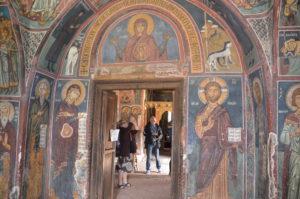 Zypern-Exkursion, freskenbestückte byzantinische Kirche von Asinou