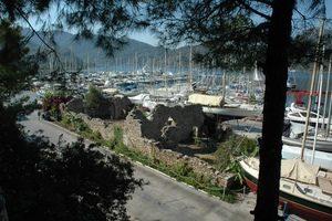 Survey Bybassos, Hafen