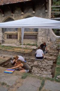 Lehrgrabung Klarissenkloster Pfullingen