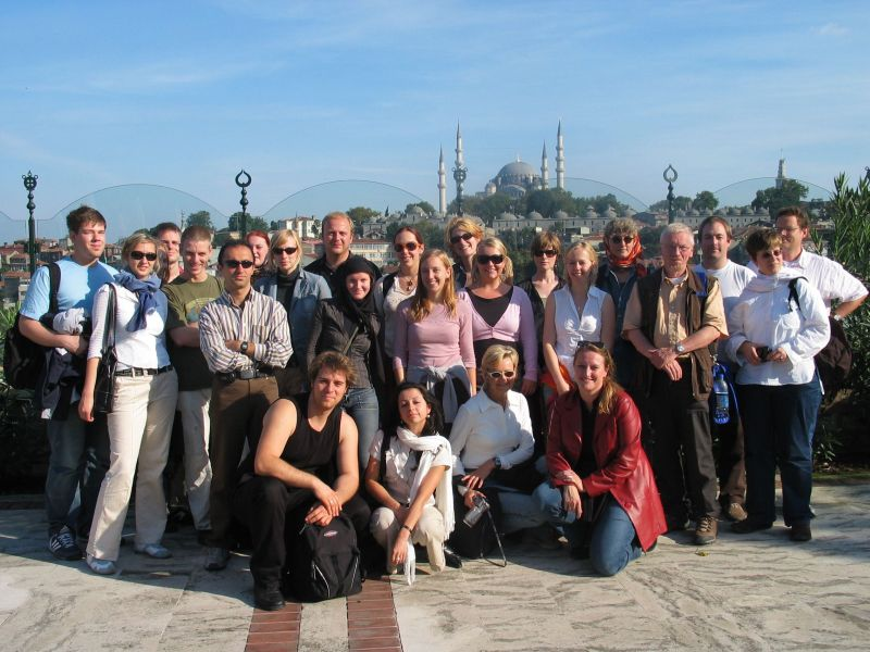 Gruppenbild Exkursion Istanbul 2005