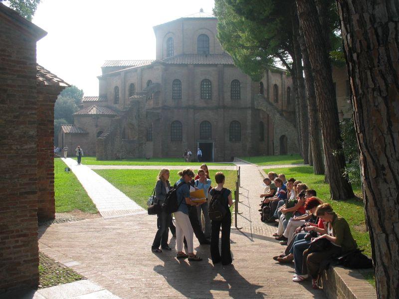 Foto Exkursion Ravenna 2004, San Vitale