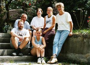 Lehrgrabung Klarissenkloster Pfullingen, Team 2
