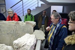 frühchristliches Grab im Archäologischen Museum Plowdiw
